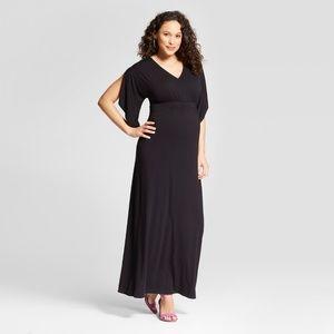 Maternity Knit Kimono Sleeve Dress  #59-25